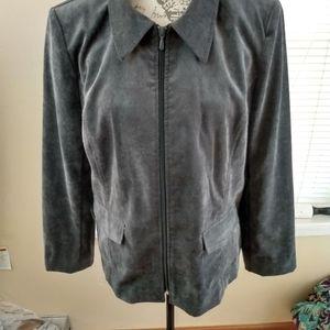 4/$25 Kim Rogers Cordorouy jacket size 14